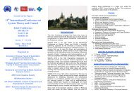 14th International Conference on System Theory and Control Joint ...