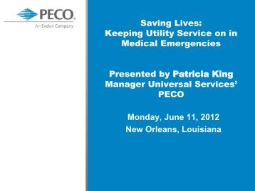1D_Patricia King - National Energy and Utility Affordability Conference