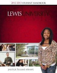 2012-2013 student handbook practical. focused ... - Lewis University