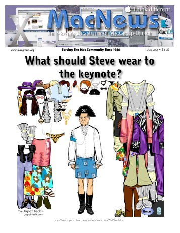 What should Steve wear to the keynote? - MacGroup-Detroit