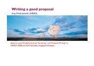 How to write a good proposal