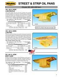 Milodon 80015 170,000 PSI Tinsile Strength 8740 Chrome Moly Premium Head Bolt Kit for Big Block Chrysler 383//440
