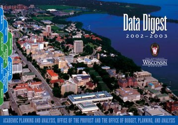 2002-03 Data Digest - Academic Planning and Institutional ...