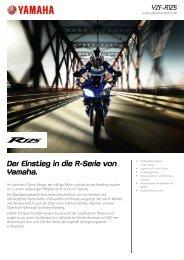 Der Einstieg in die R-Serie von Yamaha.