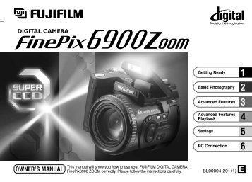 FinePix 6900 Zoom Manual - Fujifilm Canada
