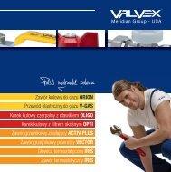 Nowości w ofercie armatury instalacyjnej Valvex 2012