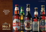 Premium Bottled Ale Report 2011 - Marston's PLC