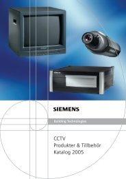 CCTV-Katalog 2005.qxd - Siemens