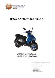 WORKSHOP MANUAL - Carl Andersen Motorcykler A/S