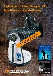 Bedienungsanleitung - Celestron FirstScope 76 Teleskop