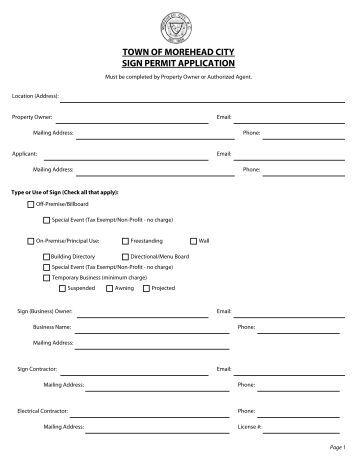 Braintree Building Permit Application