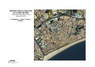 morphological analysis morphological analysis of lloret de mar