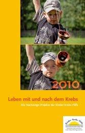 Leben mit und nach dem Krebs - Österreichische Kinder-Krebs-Hilfe
