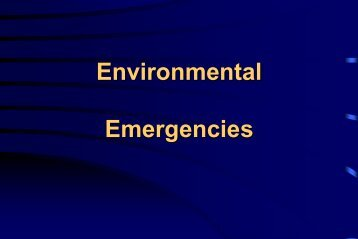 Drowning and Environmental