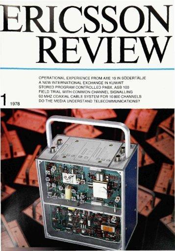 ericsson review - ericssonhistory.com