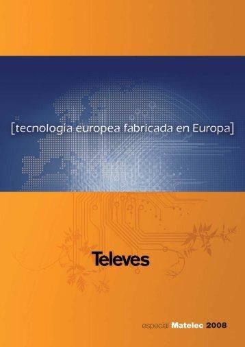 Televes Informa 108 - Especial Matelec - PLC Madrid Formación