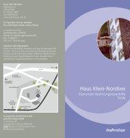 Haus Klein-Nordsee - Stadtmission Kiel