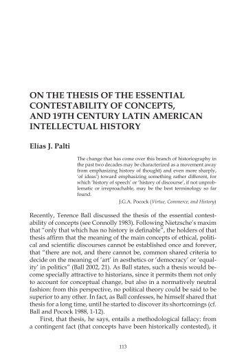 On the Thesis of Contestability of Concepts, and ... - Redescriptions