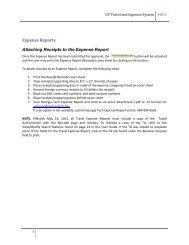 Attach Receipts to Expense Report