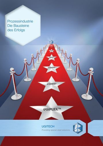 deutsche Version (pdf, 1.49 MB) - Ugitech