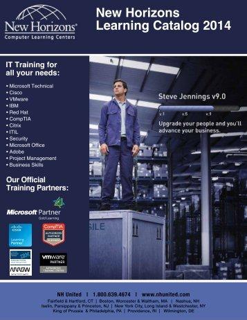 New Horizons Learning Catalog 2014