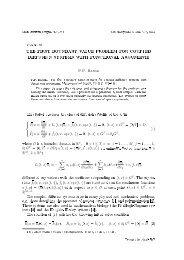 u - Matematychni Studii
