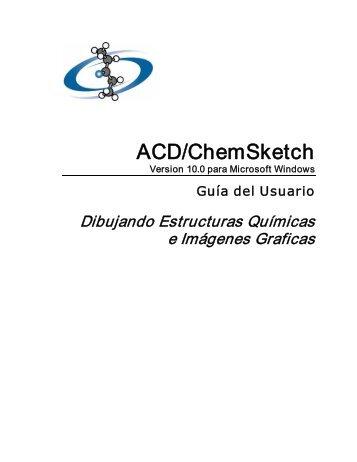 ACD/ChemSketch - Escritorio de Educación Rural
