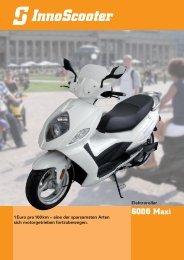 1Euro pro100km – eine der sparsamsten Arten - InnoScooter