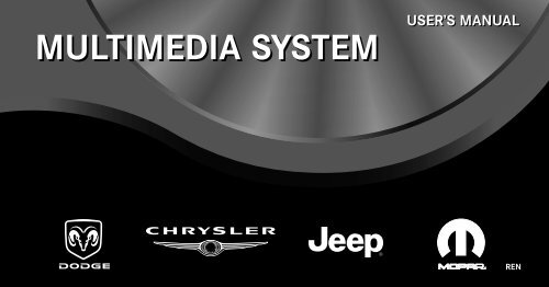 Download PDF 2010 REN Multimedia Users Manual - Chrysler