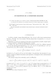 On existence of a condenser measure - Matematychni Studii