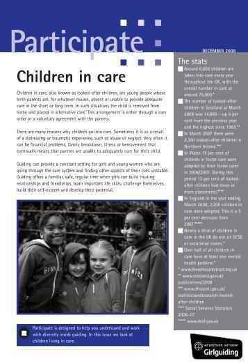 1210_Participate5_ChildrenInCare.qxp:Layout 1 - Girlguiding UK
