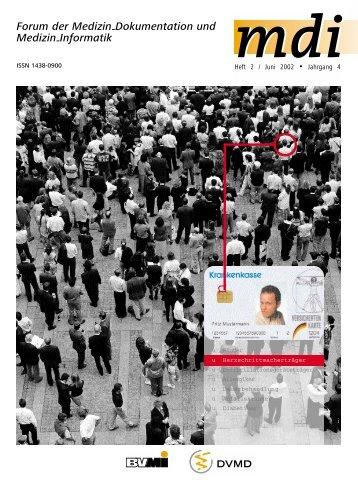 Artikel in der MDI 2/2002 - Informierung.de