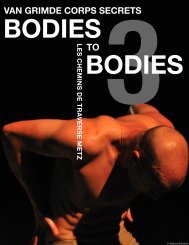 Bodies to Bodies 3 English.indd - Van Grimde Corps Secrets