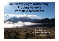 Multiwavelength Astronomy - Physics and Astronomy