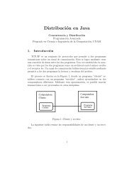 Distribución en Java