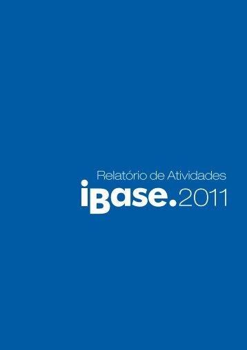 Acesse o Relatório 2011 - Ibase