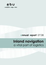 inland navigation in ebu member countries