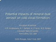11 Koehler Kirsten : POTENTIAL IMPACTS OF MINERAL DUST ...