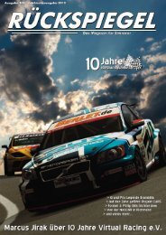 Jubiläums-Ausgabe 10 Jahre Virtual Racing eV