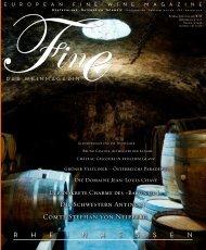 FINE Das Weinmagazin - 01/2014
