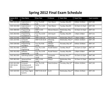 2012 fall final exam solution Course information: syllabus, office hrs and exam times office hrs: final exam: monday, april 24, 1:30 pm - 3:30 pm fall 2012 midterm exam, with solutions.