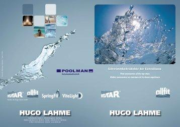 HUGO LAHME HUGO LAHME - Poolman GmbH