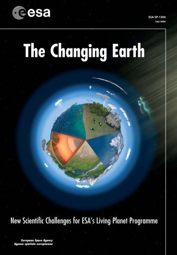 The Changing Earth - Data User Element - ESA