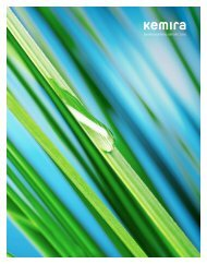 Environmental report 2010 (.pdf) - Kemira