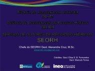 Chefe do SEORH/ Geol. Alexandre Cruz, M.Sc. - CM&O Eventos e ...