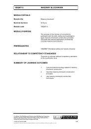 VBQM713 MASONRY BLOCKWORK MODULE DETAILS ... - TLS