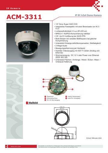 ACM-3311 - IP CCTV GmbH