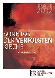 SVK Dossier - Arbeitsgemeinschaft Religionsfreiheit