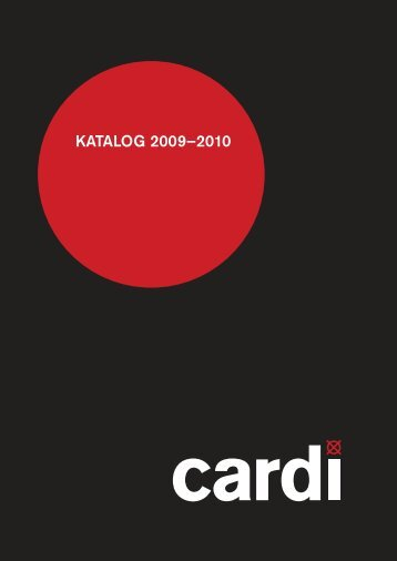 Cardi Katalog 09-10 (pdf)