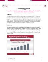 VeriSign Mobile Messaging Index Q2 2008